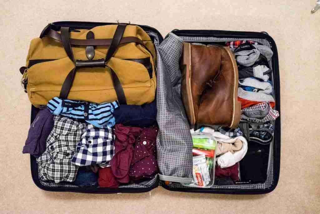 photo of luggage - China travel