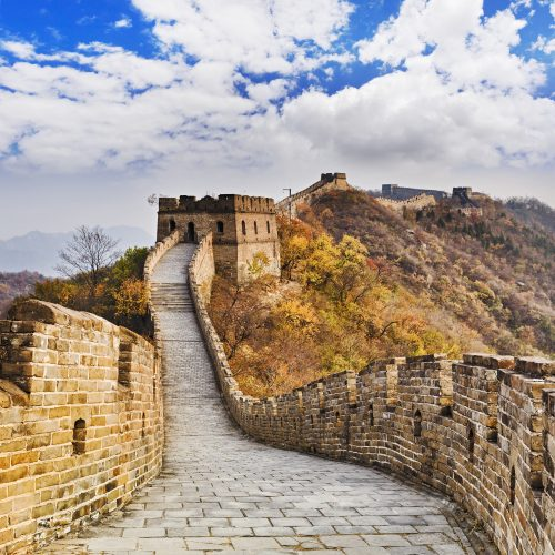 mutianyu pass great wall of China - tour China