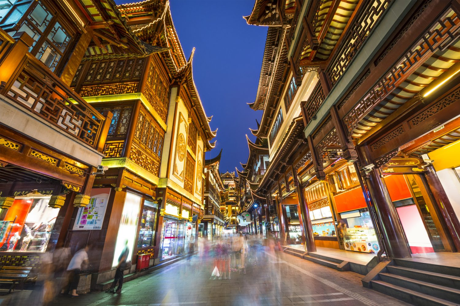 bigstock Shanghai China at Yuyuan Gard 68697061