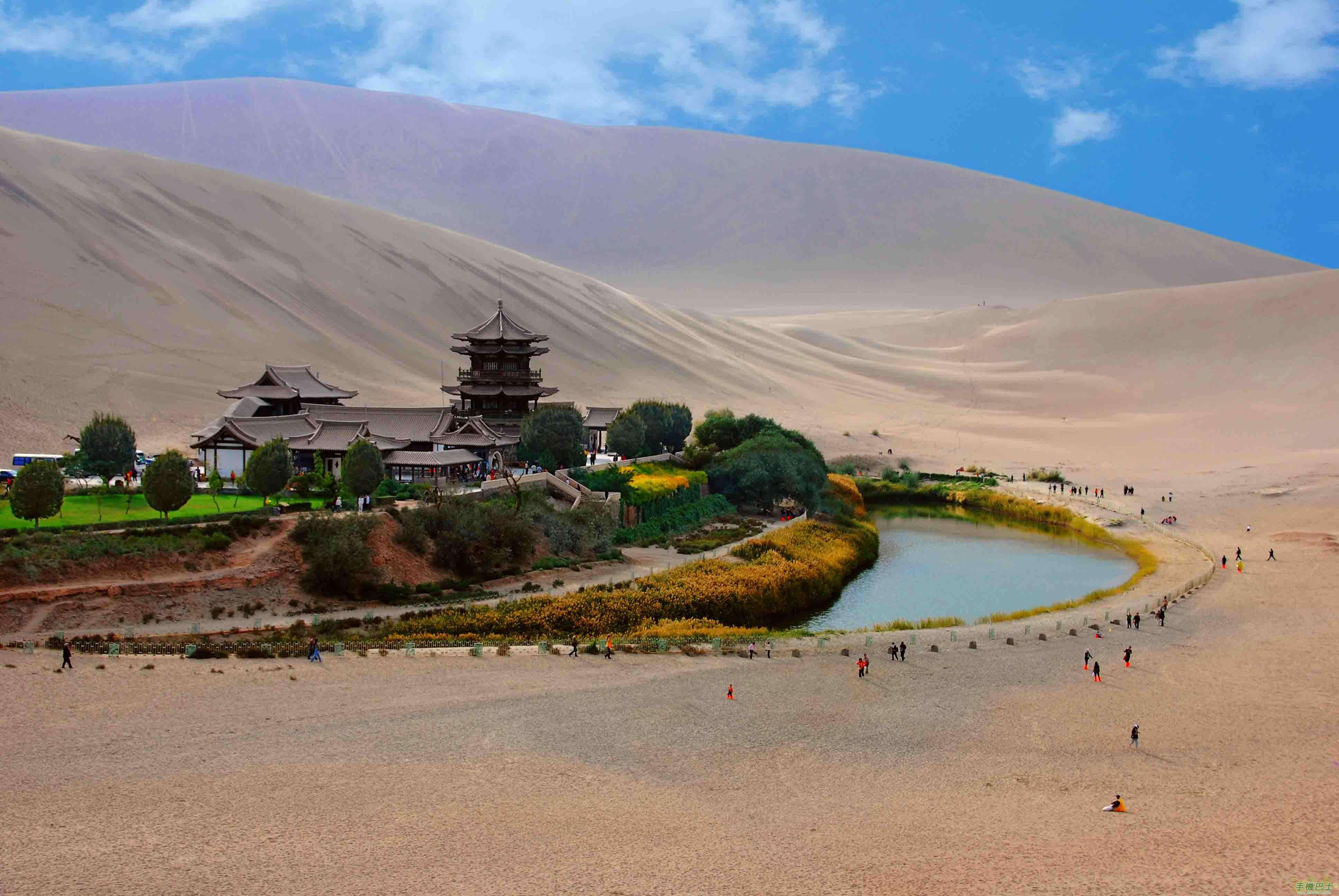 photo of dunhuang moon lade mogao cave - China travel