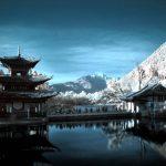 black dragon lake kuming yunnan - China tours