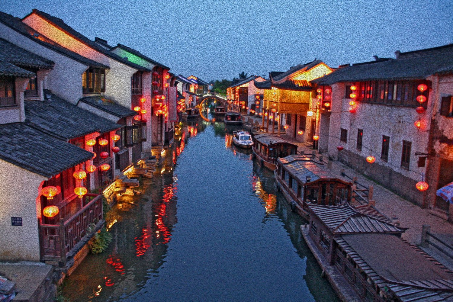 Suzhou waterways - China Tour
