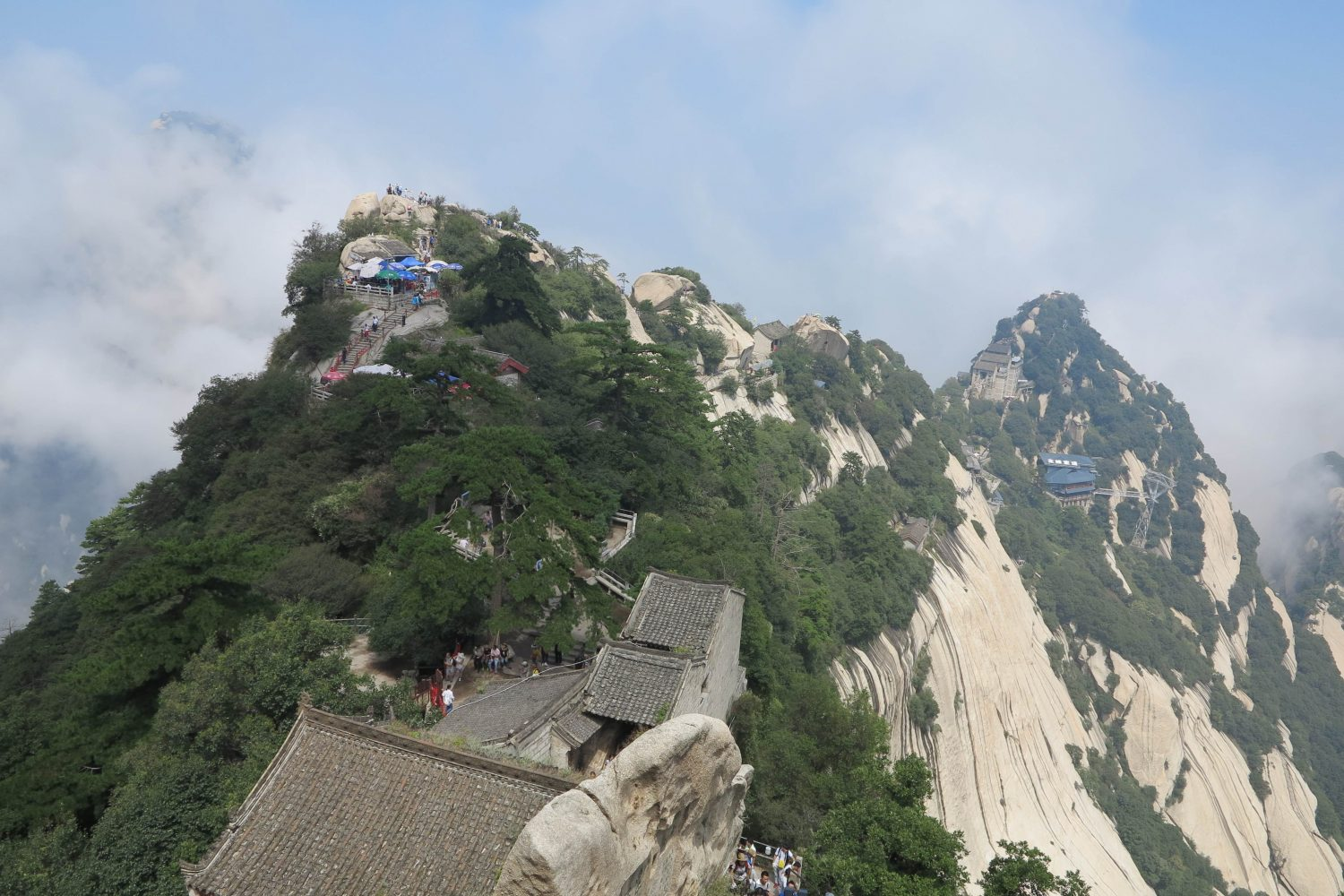 Mt. huashan in Xian - china Tours