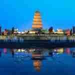 Big Wild Goose Pagoda in Xian - china tour operators