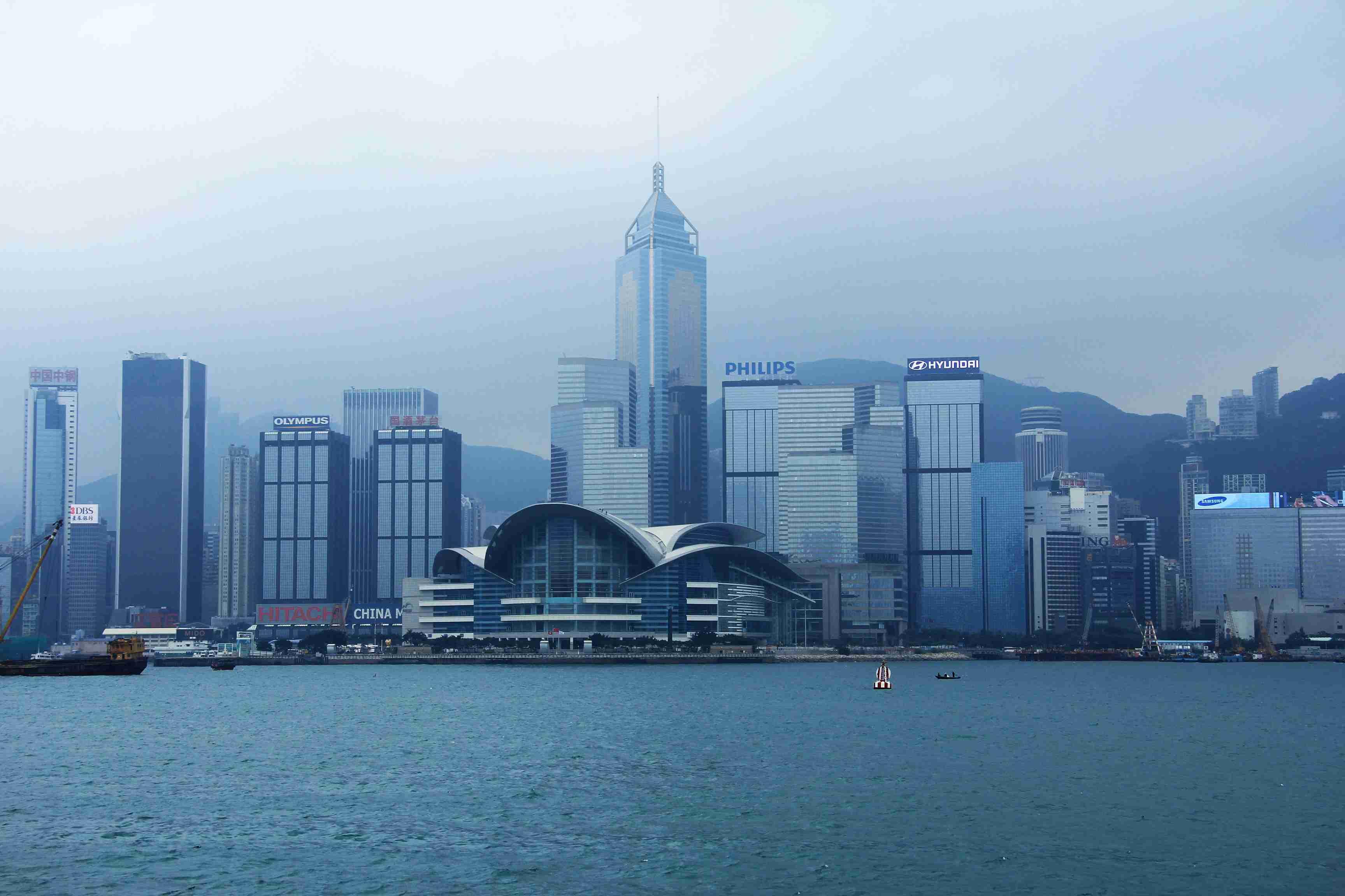 photo of downtown Hong Kong - visit China