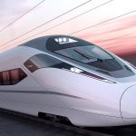 image of a bullet train - China tours