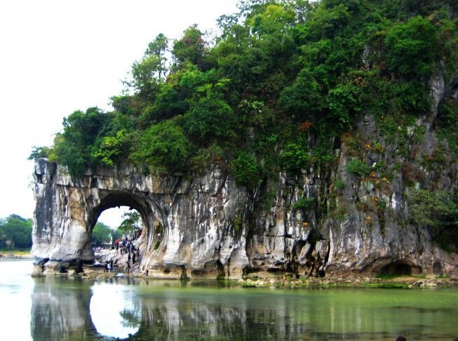 elephant trunk hill guilin - visit China