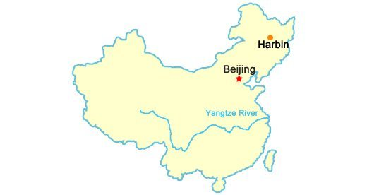 Harbin China Tour