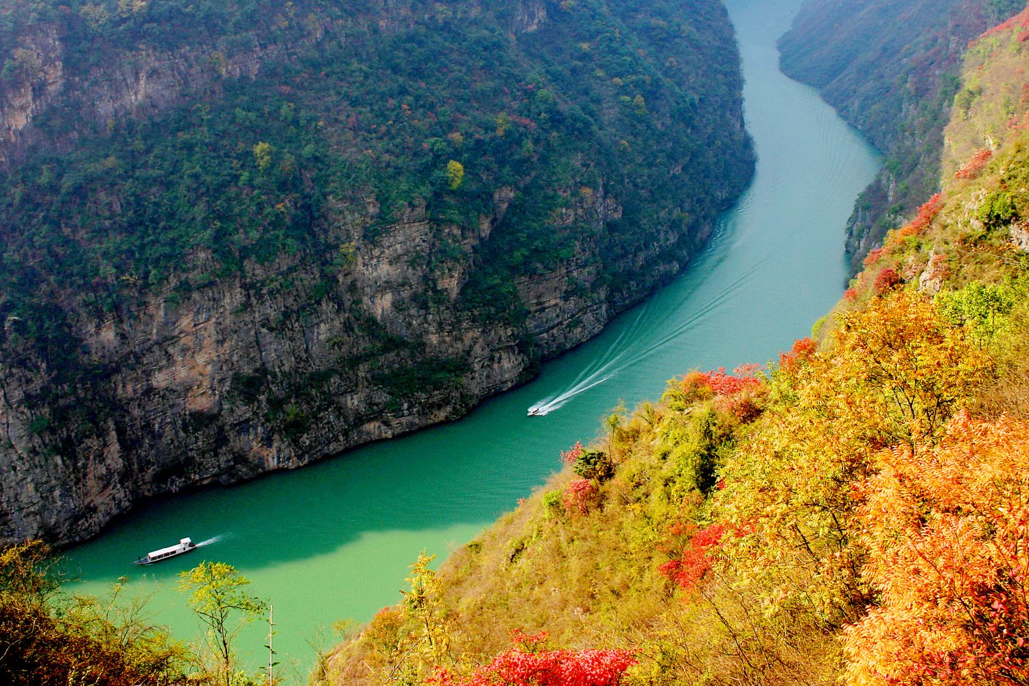 Visit China 5 Days Yangtze Cruise China Travel Packages