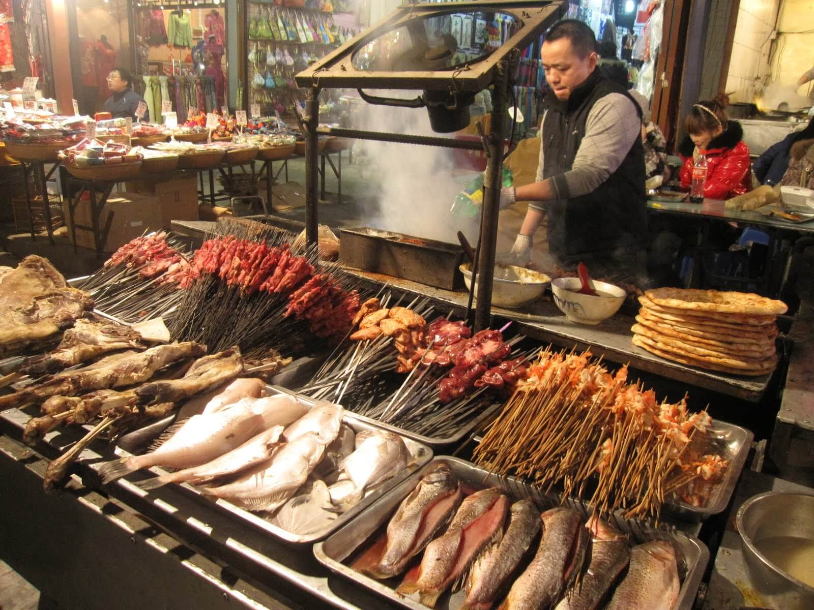 How Much Is Street Food In China