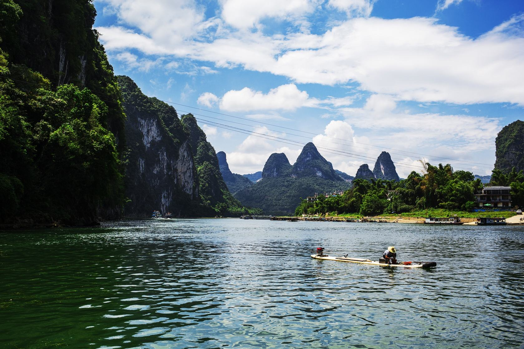 View of the Li River - China Tours
