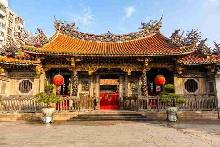 Mengjia Longshan Temple Fujian, China - trips to China