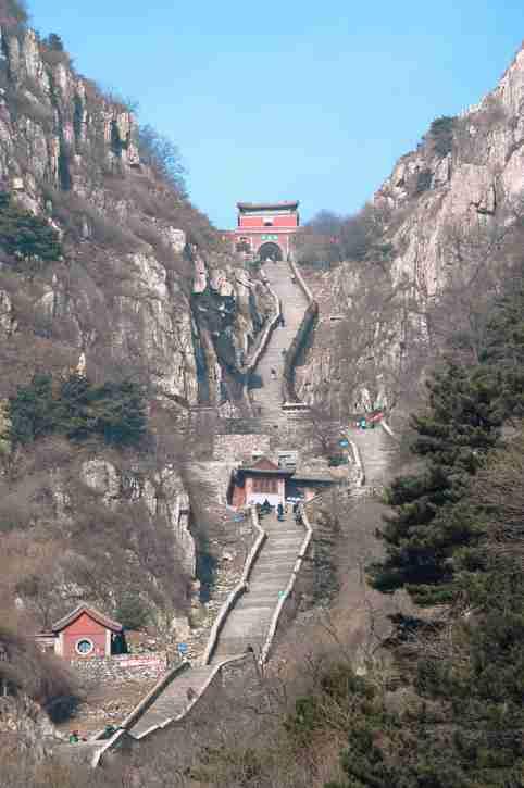 TAISHAN, CHINA - China travels
