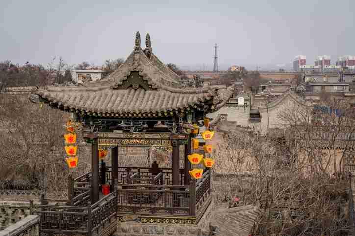 Watch Tower, Ma Jia Da Yuan Family compound or Ma Zhong Xuan residence, Pingyao, Shanxi province, China - China travel