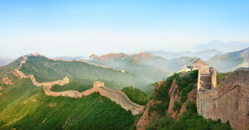 Photograph of the Great Wall of China | China Tour